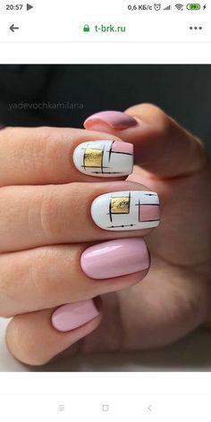 Fall Nail Art, Cute Nail Art, Cute Nails, Shellac, Gel Nails, Nail Time, Fancy Nails, Stylish Nails, Short Nails