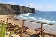 Arrifana beach, Aljezur - terrace with a view, #PORTUGAL