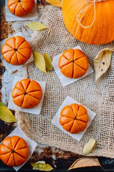 This homemade pumpkin mochi is filled with a sweet, buttery pumpkin filling. You can either steam them or pan-fry them for a perfect, off-beat fall dessert. Canned Pumpkin, Pumpkin Puree, Pumpkin Recipes, Fall Recipes, Drink Recipes, Asian Recipes, Pumpkin Field, Pumpkin Stem, Rice Desserts