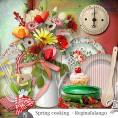 Spring Cooking (Les Essentiels) by Reginafalango http://digital-crea.fr/shop/index.php?main_page=product_info&cPath=336_427&products_id=23527