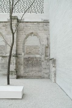 Kolumba Museum — Peter Zumthor-love it as home decor Peter Zumthor, Brick Architecture, Architecture Photo, Landscape Architecture, Ancient Architecture, Sustainable Architecture, Beautiful Architecture, Kolumba Museum, Monuments