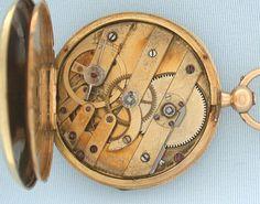 Bogoff Antique Pocket Watches    Lepine Enamel - Bogoff Antique Pocket Watch #   6464