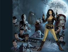 Athena Voltaire: The Collected Webcomics - Cover Art by Steve Bryant