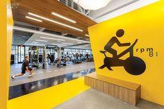 Gensler San Jose's fitness center for Symantec's Mountain View, California, headquarters exudes vim and vigor.: