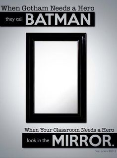 When your classroom needs a hero.....