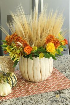 This past week I received a complimentary Deluxe Fall Harvest bouquet from ProFlowers with gorgeous red and yellow roses, Peruvian lilies, bronze spider mums, c…