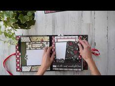[no tut]: Christmas Mini Album Christmas Mini Albums, Christmas Minis, Christmas Paper, Christmas Journal, Christmas Scrapbook, Christmas Cards, Book Making, Card Making, Book Binding Glue