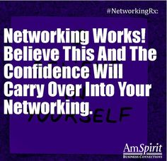 #NetworkingRx: When did you really start believing in networking?