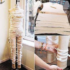 Still Looking For a Halloween Costume? Here's a Quick and Cool Mummy DIY