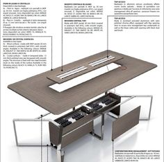 Italy Dream Design offers in sale online the best Italian office furniture. Discover our collection of conference office table made with the finest materials. Office Table Design, Modern Office Design, Office Interior Design, Office Interiors, Conference Table Design, Conference Room, Center Table Living Room, Meeting Table, Bookshelf Design