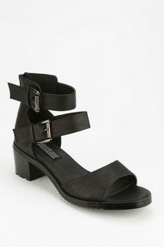 Deena & Ozzy Victoria Double-Buckle Heeled Sandal #urbanoutfitters