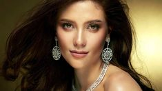Here's a Closer Look at Miss Universe-Thailand's Evening Gown Evening Gowns, Closer, Thailand, Universe, Drop Earrings, Black, Jewelry, Fashion, Evening Gowns Dresses