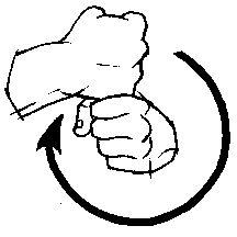 Underwear American Sign Language ASL First  Signs - Car sign language
