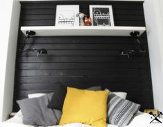 Easy IKEA Hack: Flipped FORSÅ Lamps Become Bedroom Lights K.I.T. Kun Itse Tekee... | Apartment Therapy