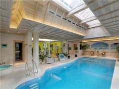 would be nice to have this as my own indoor swimming pool x