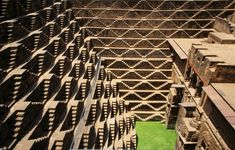 India: Largest stepwell in the country, built between AD to preserve water during monsoon season in the arid region; 3 sides contain steps to a depth of 100 ft while the side houses a temple. Machu Picchu, Agra, The Places Youll Go, Places To Visit, Hill Station, Places To Travel, Cool Photos, Amazing Photos, Life Is Good
