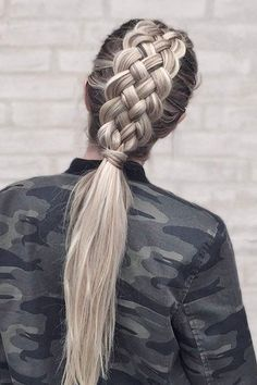 The Ultimate Hair Hack to Instantly Make Your Plait Prettier #HairStyles
