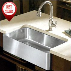 8 Degree™ Large Single Kitchen Sink The 8 Degree Sink Is Handcrafted From  Thick, Premium Quality 16 Gauge Stainless Steel For Exceptu2026