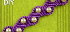 You can call this bracelet a snake or a wave bracelet with beads. Good accessory for the summer season! All information is displayed in the video.. Video: .