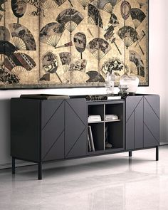 Sideboards are the perfect storage solutions for all those unsightly objects that gather around the home. The Bontempi Pica Sideboard is available on our new website now. Contemporary Furniture Stores, Contemporary Interior, Modern Furniture, Furniture Design, Sideboard Modern, Wood Sideboard, Furniture Boutique, Wood Veneer, Walnut Veneer