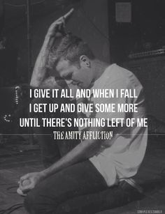 The Amity Affliction // Give It All