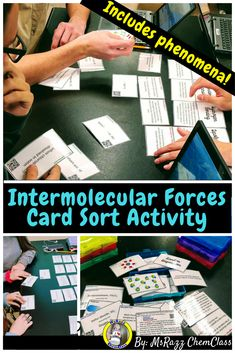 33 best msrazz chemclass resources images on pinterest physical intermolecular forces card sort activity fandeluxe Images