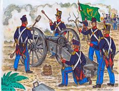A rendition of the San Patricio Battalion (consisted of Irish deserters from the US Army) which fought for the Mexican army during the Mexican American War Painted by Mr. Military Guns, Military Uniforms, Military Art, Military History, Army Uniform, Mexican Army, Mexican American War, Texas Revolution, Military Costumes
