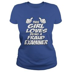 Being A Fraud Examiner T-Shirts, Hoodies. ADD TO CART ==► https://www.sunfrog.com/Jobs/Being-A-Fraud-Examiner-Shirt-Royal-Blue-Ladies.html?id=41382