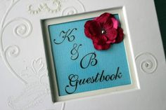 Frugal Fun Ideas with Brie: DIY Wedding Guestbook
