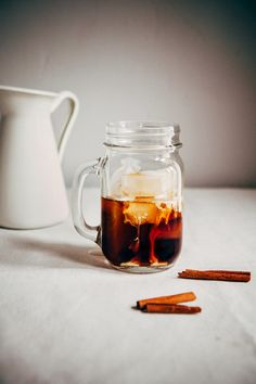 Hummingbird High: Overnight Cinnamon Iced Coffee and Cream