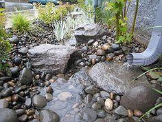 Bottom of the dry river/sandbox
