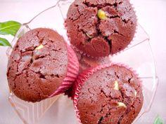 Eternos Prazeres: Muffins Red Velvet com Chocolate Branco