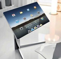 Are 40 inch tablets going to be our future desktops?