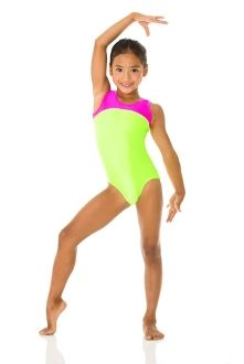 Gymnastics Leotard Love The Pink And Green 22 50 Leos Outfits