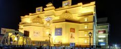 Night view of The Celebration Mall Udaipur