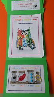 Pequeferroviarios: PROYECTO: EL MONSTRUO DE COLORES Emotions Preschool, Feelings Activities, Color Activities, Preschool Activities, Spanish Colors, Feelings Book, Monster Book Of Monsters, Kindergarten Classroom, Emotional Intelligence