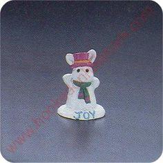 1991 Snow Bunny - Merry Miniature