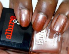 Allure and Butter London Arm Candy Nail Polish Collection  I'm On The List #bLxAllure