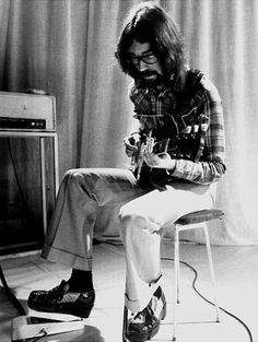 Genesis guitarist Steve Hackett plays an assortment of guitars, but his favorite is a '57 gold-top Les Paul.