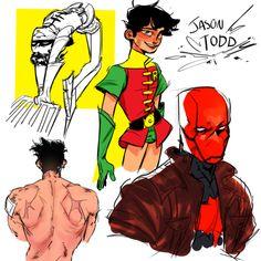 batman doesn't do ships: Photo Nightwing, Batgirl, Dc Comics, J Birds, Red Hood Jason Todd, Bat Boys, Fandoms, Tim Drake, Dc Characters