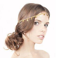 shixin® borlas europeu simples com headbands de liga de ouro cartão de memória flash para as mulheres (1 pc)