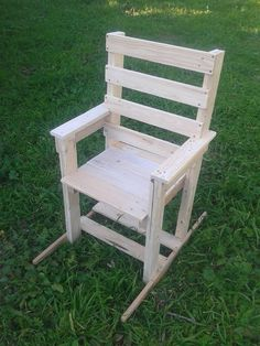 Cadeira de baloiço-Arte & Paletes