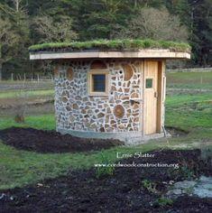 Sauna redonda ecológica