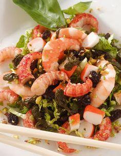 Chef & Quality: Ensalada de espinacas y cangrejos de rio