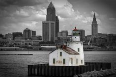 """500px / Photo """"Lighthouse in Cleveland """" by Keny Busch"""