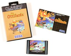 Sega Mega Drive Spiel The Ottifants Classic in OVP