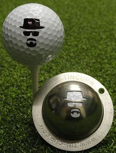 Tin Cup releases 'Breaking Bad' ball stencil | Golf Channel