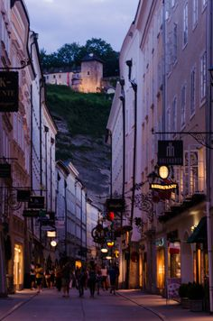 Salzburg - Most Beautiful City in Europe - The City of Mozart Places In Europe, Places To Travel, Places To Visit, Austria Travel, Germany Travel, Most Beautiful Cities, Wonderful Places, Travel Memories, Travel Goals