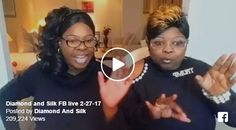 Press play and stand back! Diamond and Silk are back again, this time sending a scorching message to the DNC, the Democrat Plantation, Tom Perez, Keith Ellison, illegal aliens, Rosie O'Donnell and the terrorists leading the liberal womens march. Related