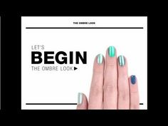 Sephora Nail How-to: Ombre This is so cute go to www.nail-tutorials.com to find more tips and tutorials for nails!